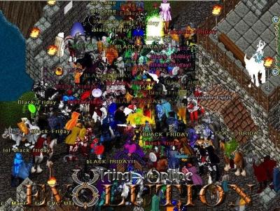 Black Friday on UO Evolution