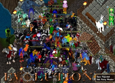 PVP events on UO Evolution