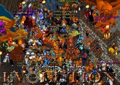 Halloween on UO Evolution